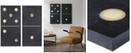JLA Home   INK+IVY 'Two Black Dominoes' Gel-Coated 2-Pc. Canvas Wall Art Set