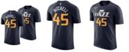 Nike Donovan Mitchell Utah Jazz Icon Name and Number T-Shirt, Big Boys (8-20)