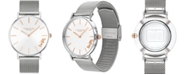 COACH Women's Perry Created for Macy's Stainless Steel Mesh Bracelet Watch 36mm