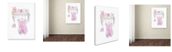 "Trademark Global The Macneil Studio 'Birth Pink' Canvas Art - 19"" x 14"" x 2"""