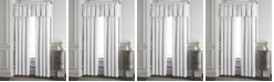 """Colcha Linens Cambric White Lined Drapery Panel 52""""x84"""" - Each"""
