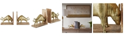 JLA Home Madison Park Signature Bravo Bull Bookend