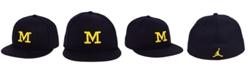 Nike Michigan Wolverines True Wool Fitted Cap