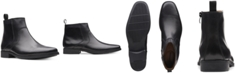 Clarks Men's Tilden Zip Waterproof Leather Boots, Created for Macy's
