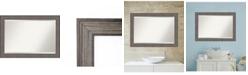 Amanti Art Country Barnwood 41x29 Bathroom Mirror