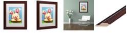 "Trademark Global Jennifer Nilsson I Wuv You Matted Framed Art - 11"" x 14"" x 0.5"""