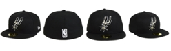 New Era San Antonio Spurs Basic 59FIFTY Fitted Cap 2018