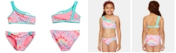 Summer Crush Big Girls 2-Pc. Tie-Dyed Bikini
