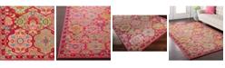"""Surya Anika ANI-1016 Bright Pink 18"""" Square Swatch"""