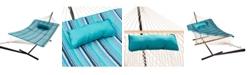 Blue Wave Island Retreat Hammock Pillow & Pad Set
