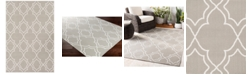 "Surya Alfresco ALF-9651 Taupe 2'3"" x 4'6"" Area Rug, Indoor/Outdoor"
