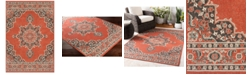 "Surya Alfresco ALF-9672 Burnt Orange 18"" Square Swatch"
