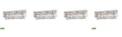 ELK Lighting Palacial 3 Light Vanity in Polished Chrome