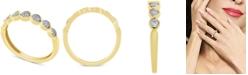 Macy's Diamond Fashion Band (1/5 ct. t.w.) in 10k Gold