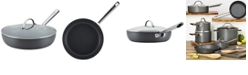 """Anolon Professional Hard Anodized Nonstick Covered Deep 12"""" Skillet"""