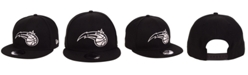 New Era Orlando Magic Black White 9FIFTY Snapback Cap