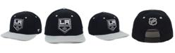 Authentic NHL Headwear Los Angeles Kings Blackout Emblem Snapback Cap
