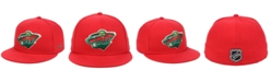 Authentic NHL Headwear Minnesota Wild Basic Fan Fitted Cap