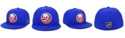 Authentic NHL Headwear New York Islanders Basic Fan Fitted Cap