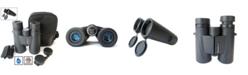Cassini 10 Power X 42mm Waterproof, Fogproof Bak4 Roof Prism Binocular and Case
