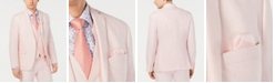 Bar III Men's Slim-Fit Linen Pink Suit Jacket, Created for Macy's
