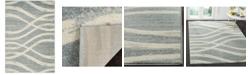 "Safavieh Adirondack Cream and Slate 5'1"" x 7'6"" Area Rug"