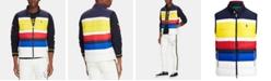 Polo Ralph Lauren Men's Striped Packable Down Vest, Created for Macy's
