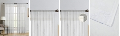"Silk Home Living Silk+Home Luxury Light Filtering Rod Pocket Single Curtain Panel 52""x95"""