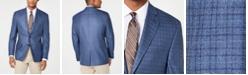 Lauren Ralph Lauren Men's Classic-Fit UltraFlex Stretch Blue Check Sport Coat