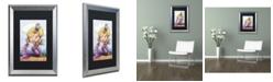 "Trademark Global Jennifer Nilsson Alissa Matted Framed Art - 11"" x 14"" x 0.5"""