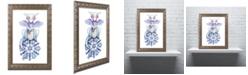 "Trademark Global Jennifer Nilsson Warm Wishes - Dragon Ornate Framed Art - 16"" x 20"" x 0.5"""