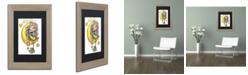 """Trademark Global Jennifer Nilsson She Hangs the Stars Matted Framed Art - 16"""" x 20"""" x 0.5"""""""
