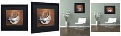"Trademark Global Jennifer Nilsson Warm & Inviting Matted Framed Art - 16"" x 20"" x 0.5"""