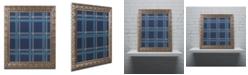 """Trademark Global Jennifer Nilsson Blue Gold Ornate Framed Art - 11"""" x 14"""" x 0.5"""""""