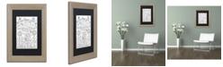 """Trademark Global Jennifer Nilsson Garden Grow Matted Framed Art - 16"""" x 20"""" x 0.5"""""""
