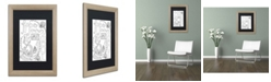 "Trademark Global Jennifer Nilsson Anchor for the Soul Matted Framed Art - 16"" x 20"" x 0.5"""
