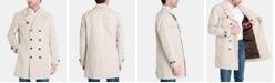 Michael Kors Men's Modern-Fit Double-Breasted Raincoat