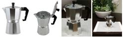 Mr Coffee Mr. Coffee Brixia 6-Cup Aluminum Stovetop Espresso Maker
