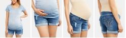 Motherhood Maternity Denim Shorts