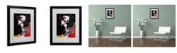 """Trademark Global Dean Russo 'Girls Best Friend' Matted Framed Art - 20"""" x 16"""" x 0.5"""""""