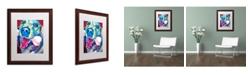 "Trademark Global DawgArt 'My Favorite Bone Reboot' Matted Framed Art - 16"" x 20"" x 0.5"""