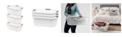 IRIS USA Iris Comfort Carry Laundry Basket, 3 Pack