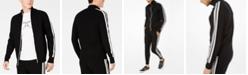 Michael Kors Men's Contrast Stripe Track Jacket