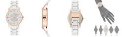 INC International Concepts I.N.C. Women's White Bracelet Watch 36mm, Created for Macy's