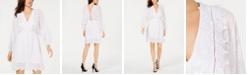 GUESS Sandy Eyelet Mini Dress