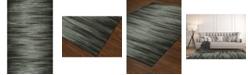 D Style Fade Fad1 Graphite 8' x 10' Area Rug