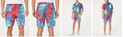 American Rag Men's Relaxed Fit Tie Dye Shorts, Created for Macy's