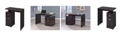 Coaster Home Furnishings Sterling Office Desk with Cabinet