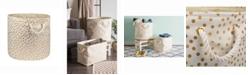 Design Import Storage Bin Dots, Round