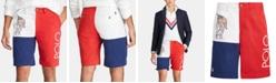 "Polo Ralph Lauren Men's Chariots 10"" Colorblocked Chino Shorts"